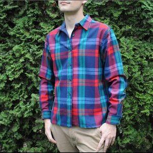 pendleton 100% wool button down shirt